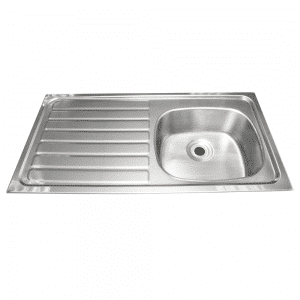 Inset Sink With Drainer